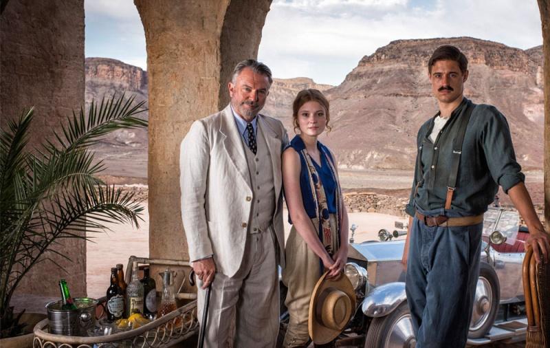 Tutankhamun ITV 2016, avec Max Irons et Sam Neil Tutt10