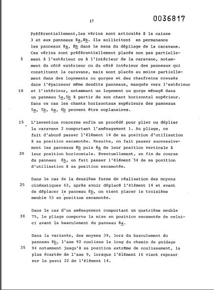 la naissance des esterel (les brevets) 18_81a10