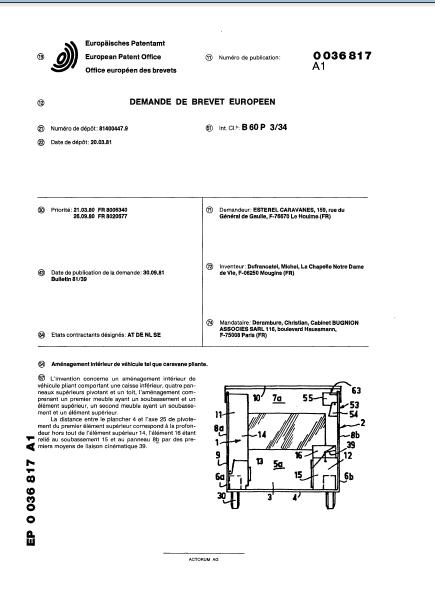 la naissance des esterel (les brevets) 1_81b110
