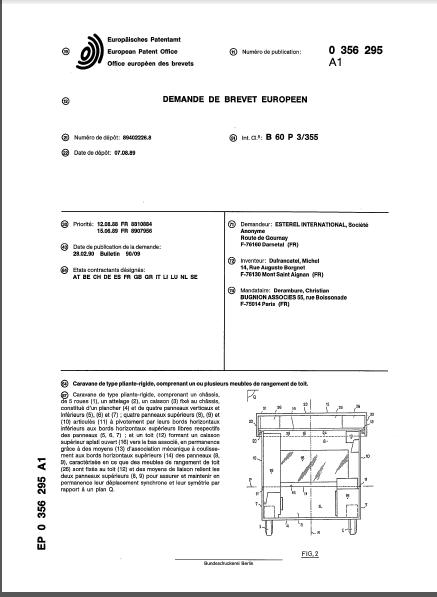 la naissance des esterel (les brevets) 1_89a110