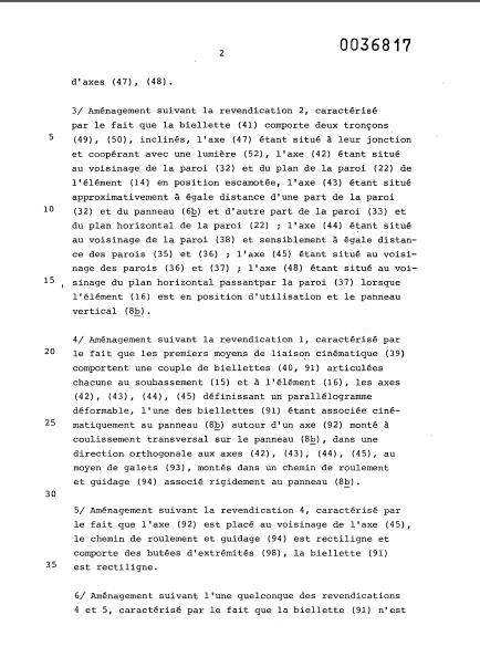 la naissance des esterel (les brevets) 20_81a10