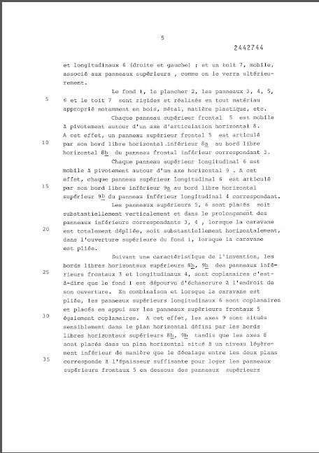 la naissance des esterel (les brevets) 6_7810
