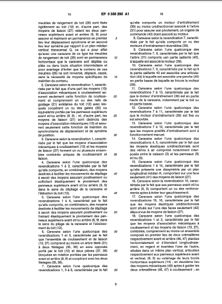 la naissance des esterel (les brevets) 9_89a110