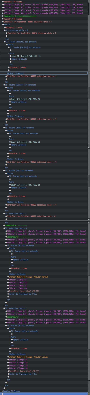 Selecteur ( personnages/ niveau voir écran titre personnalisé) 0111