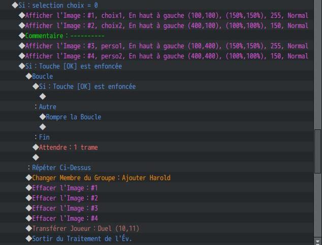 Selecteur ( personnages/ niveau voir écran titre personnalisé) 0113