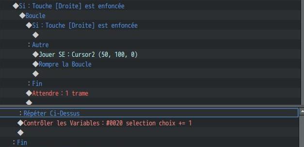 Selecteur ( personnages/ niveau voir écran titre personnalisé) 0311