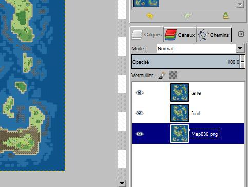 """Donner un effet """"vieille carte"""" à votre map (avec GIMP) 1010"""