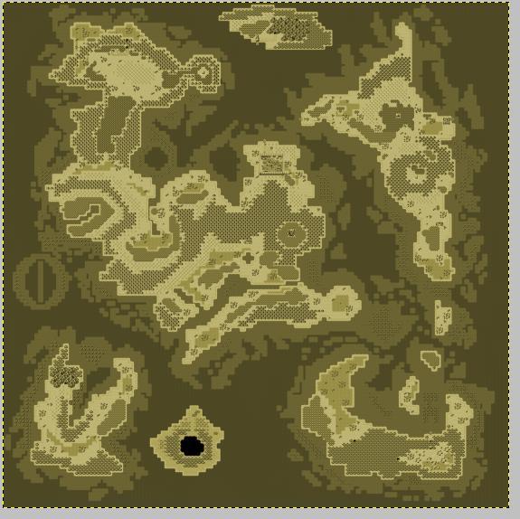 """Donner un effet """"vieille carte"""" à votre map (avec GIMP) 1211"""
