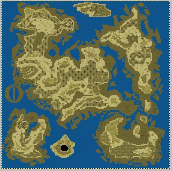 """Donner un effet """"vieille carte"""" à votre map (avec GIMP) 1310"""