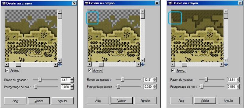 """Donner un effet """"vieille carte"""" à votre map (avec GIMP) 1510"""