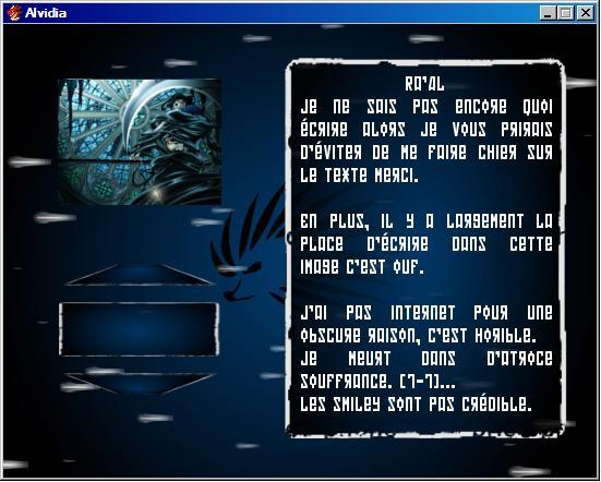 Selecteur ( personnages/ niveau voir écran titre personnalisé) 22210