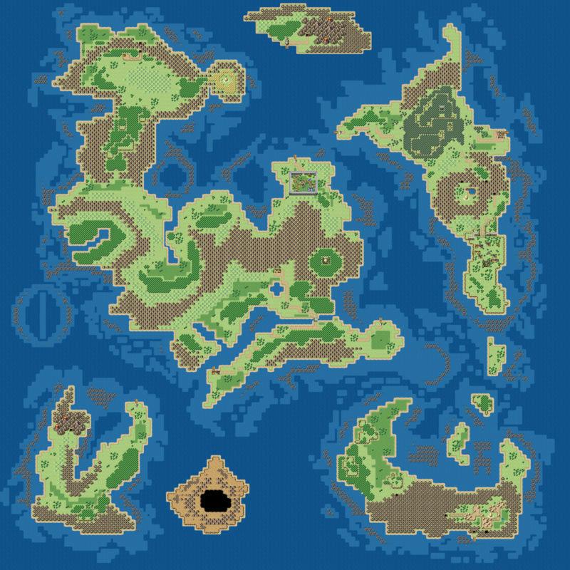 """Donner un effet """"vieille carte"""" à votre map (avec GIMP) Map03610"""