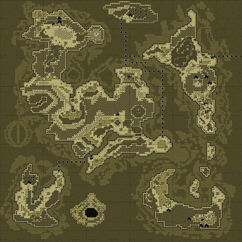 """Donner un effet """"vieille carte"""" à votre map (avec GIMP) Mapmon10"""