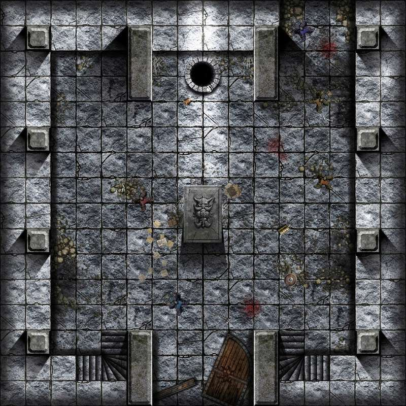 [Maquette] La chambre de Mazarbul (pour fin avril) Dungeo10