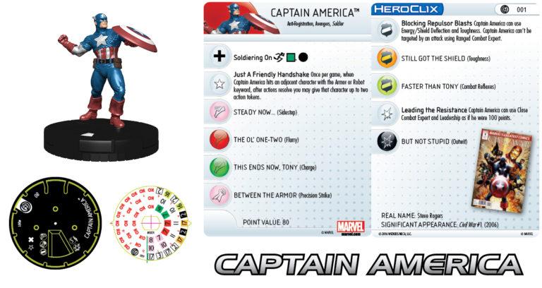 [News] Marvel Heroclix Civil War Mv201613