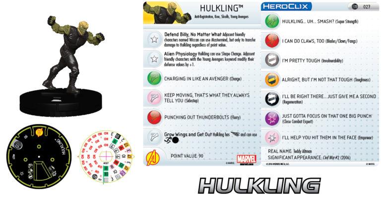 [News] Marvel Heroclix Civil War Mv201620