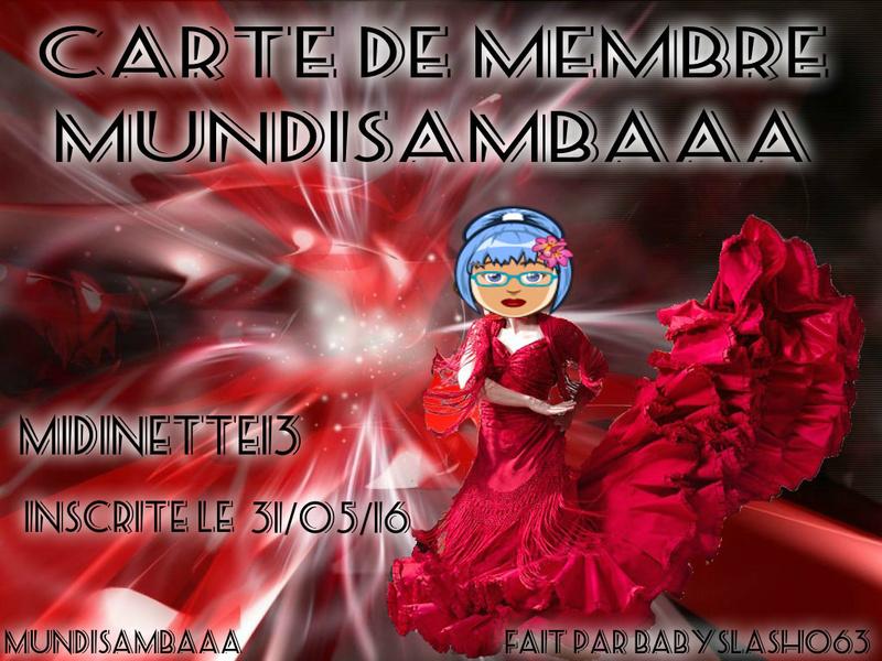 CA RTE DE MEMBRE MIDINETTE13 C MYMA Pizap873