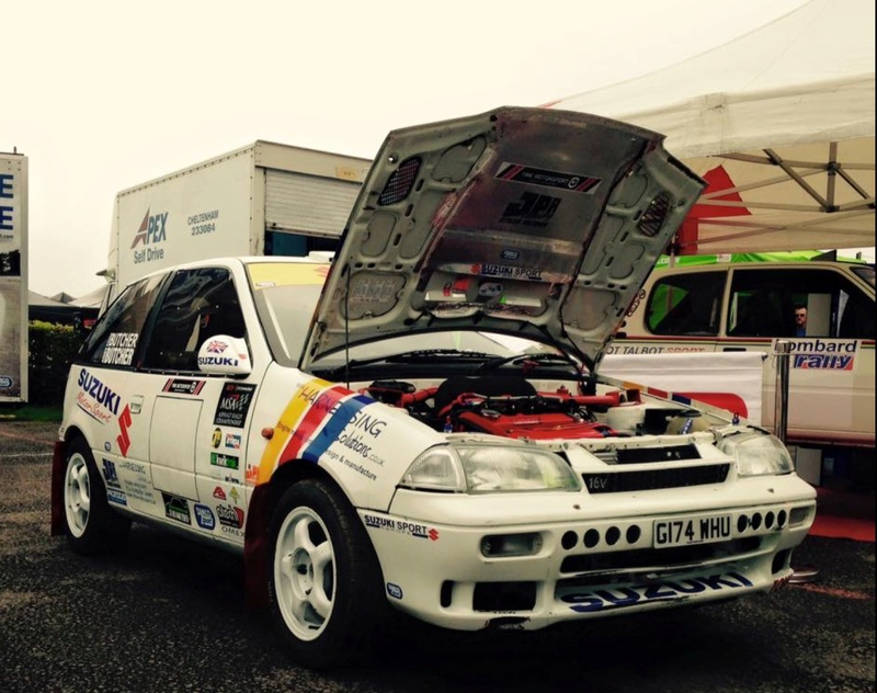 Suzuki Swift GTI Mk2 S1400 Rally car for sale Image10