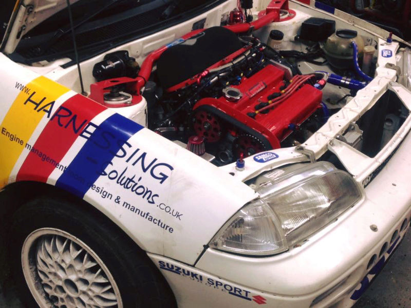 Suzuki Swift GTI Mk2 S1400 Rally car for sale Image14