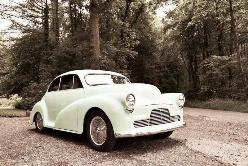 British classic car custom & mild custom - UK - GB - England 114