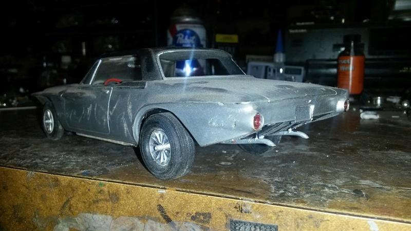 Vintage built automobile model kit survivor - Hot rod et Custom car maquettes montées anciennes - Page 5 12400610