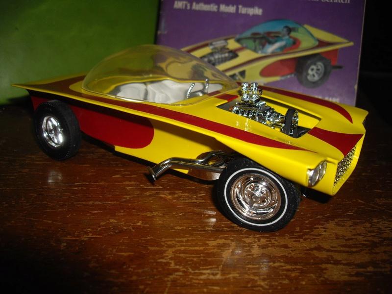 Vintage built automobile model kit survivor - Hot rod et Custom car maquettes montées anciennes - Page 6 12493410