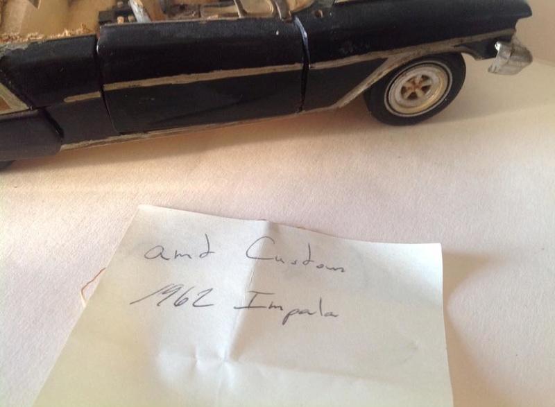 Vintage built automobile model kit survivor - Hot rod et Custom car maquettes montées anciennes - Page 5 12508810