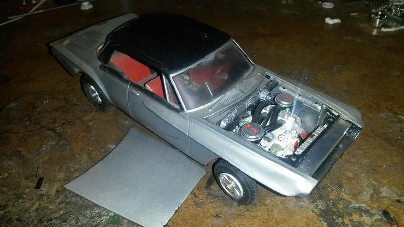 Vintage built automobile model kit survivor - Hot rod et Custom car maquettes montées anciennes - Page 5 12552810