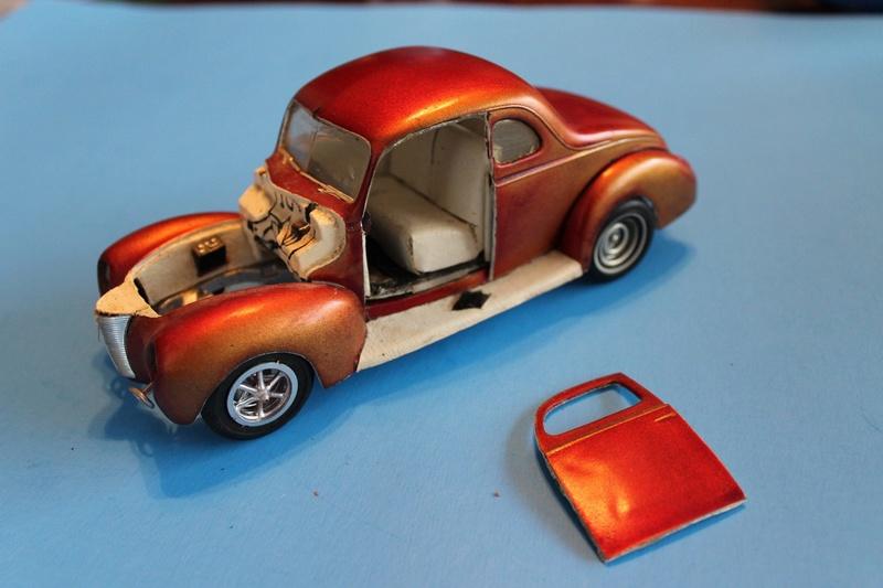 Vintage built automobile model kit survivor - Hot rod et Custom car maquettes montées anciennes - Page 5 12671910