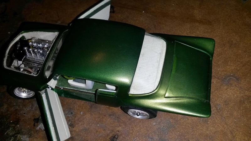 Vintage built automobile model kit survivor - Hot rod et Custom car maquettes montées anciennes - Page 5 12705510