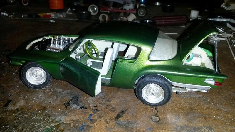 Vintage built automobile model kit survivor - Hot rod et Custom car maquettes montées anciennes - Page 5 12728710