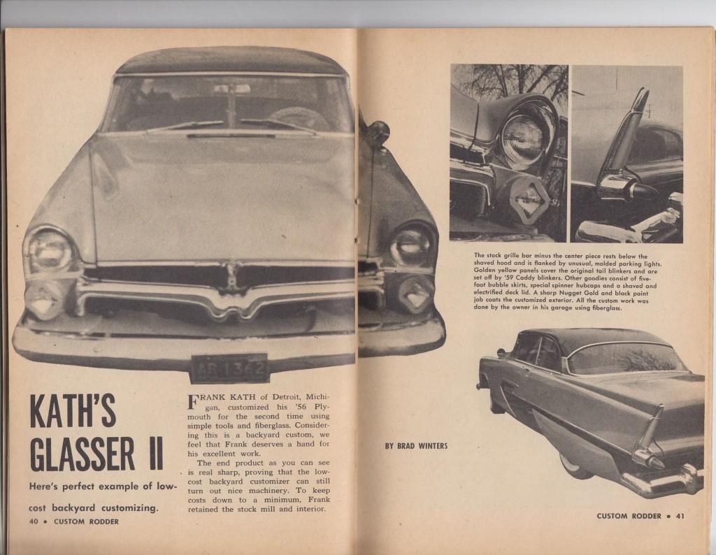 Custom Rodder Magazine June 1961 13247810