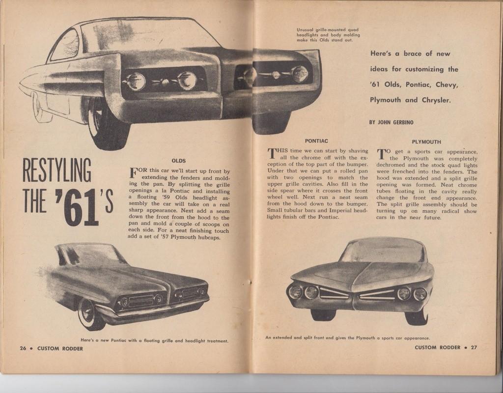 Custom Rodder Magazine June 1961 13412015