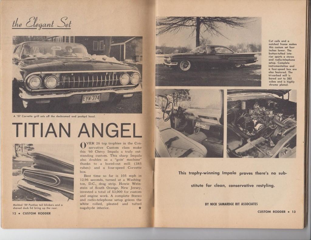 Custom Rodder Magazine June 1961 13415511
