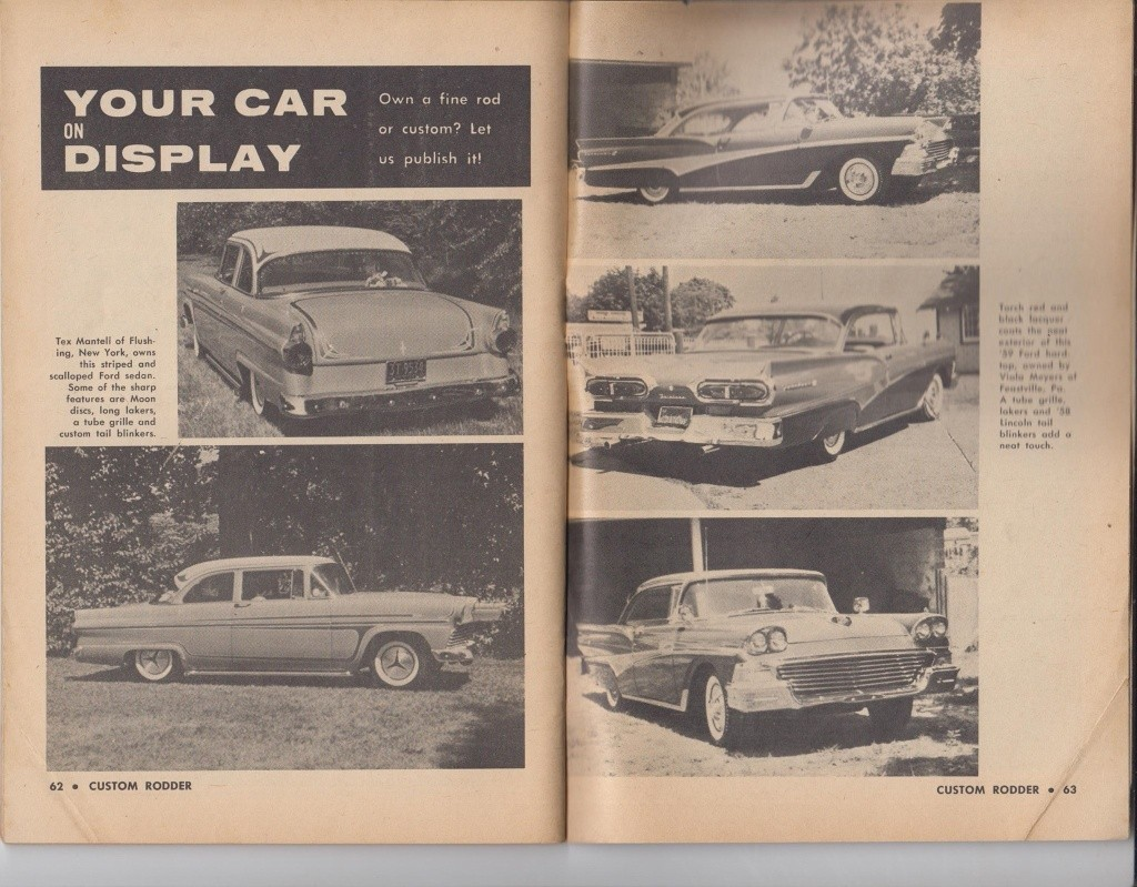 Custom Rodder Magazine June 1961 13415610