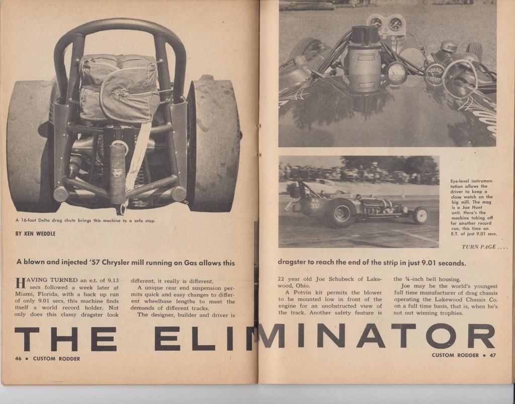 Custom Rodder Magazine June 1961 13418611