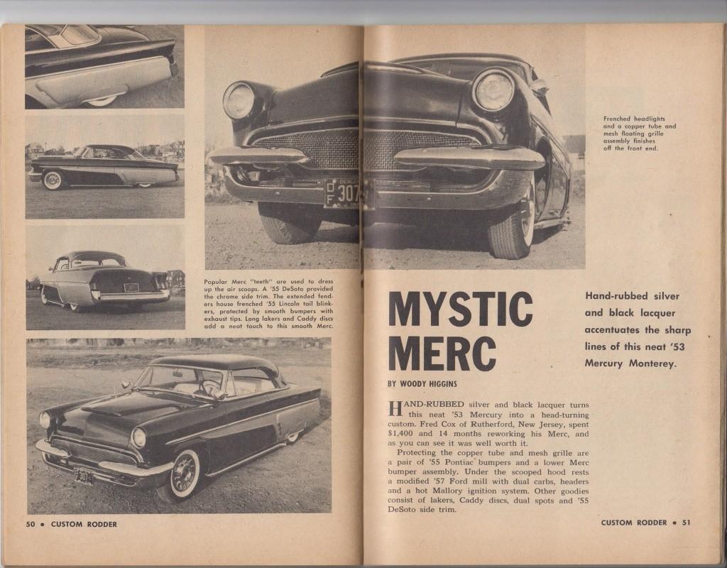 Custom Rodder Magazine June 1961 13418612