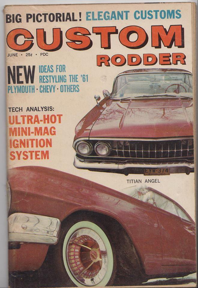 Custom Rodder Magazine June 1961 13442310