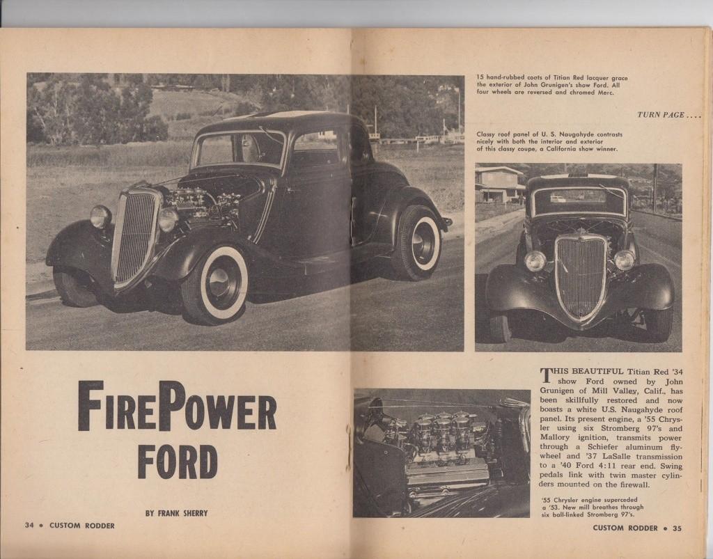 Custom Rodder Magazine June 1961 13443213