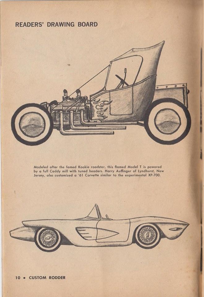 Custom Rodder Magazine June 1961 13450810