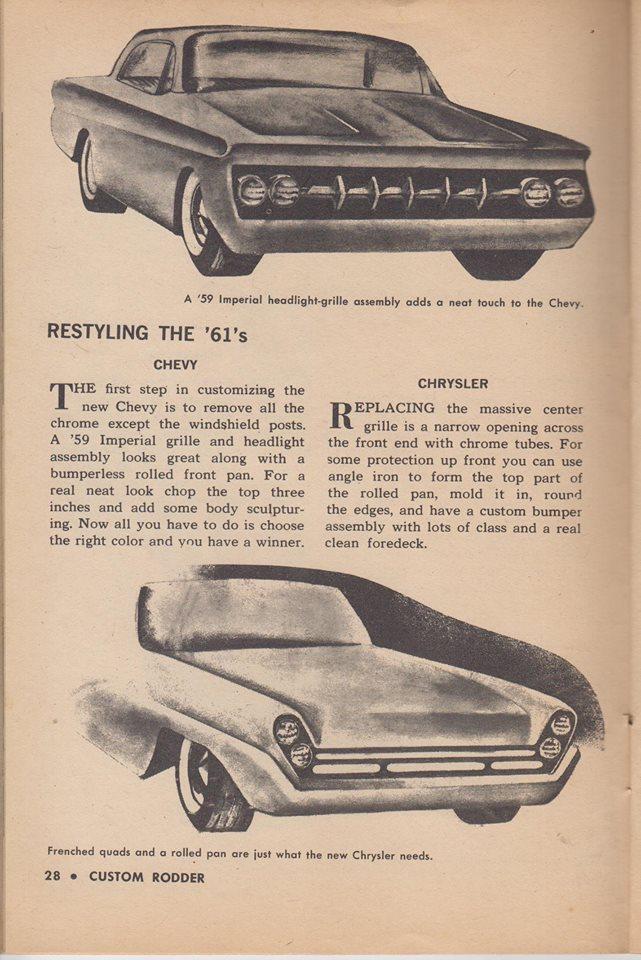Custom Rodder Magazine June 1961 13466411
