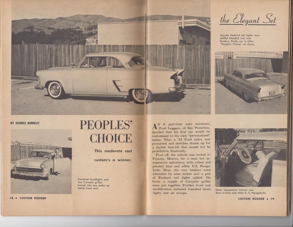 Custom Rodder Magazine June 1961 13475110