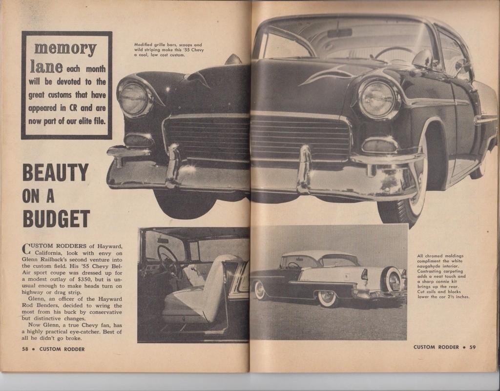 Custom Rodder Magazine June 1961 13490610