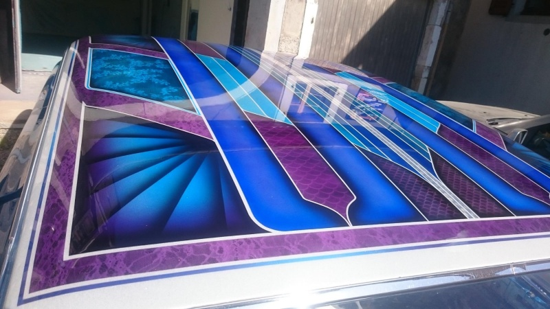 auto's crazy paint - peinture de fou sur carrosseries 13498110