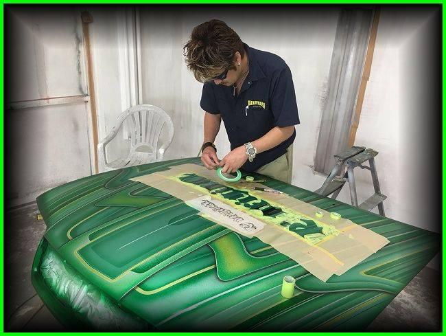 auto's crazy paint - peinture de fou sur carrosseries 13528810