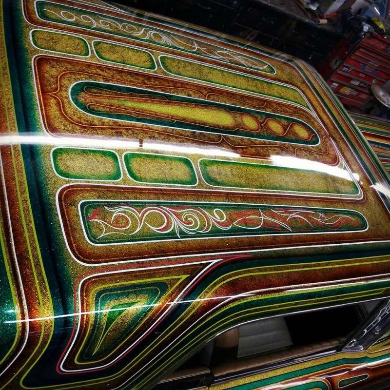 auto's crazy paint - peinture de fou sur carrosseries 13615210