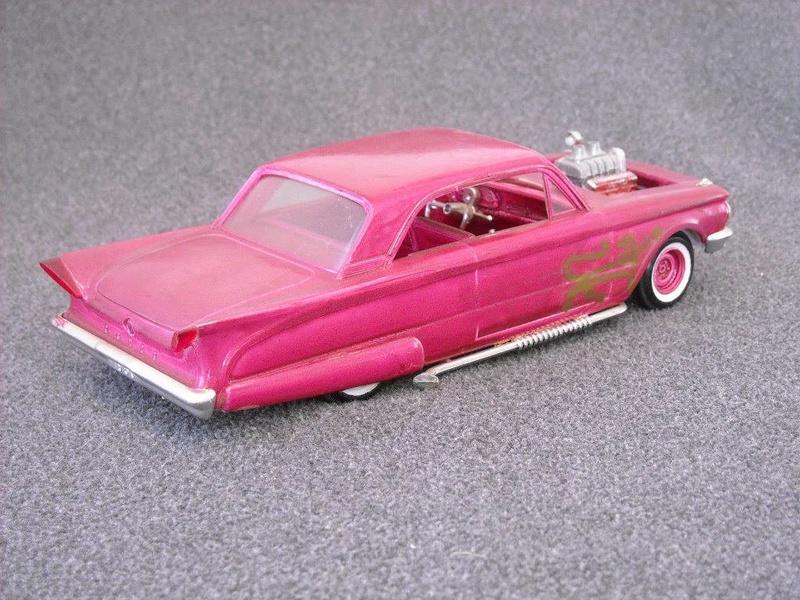 Vintage built automobile model kit survivor - Hot rod et Custom car maquettes montées anciennes - Page 6 13653210