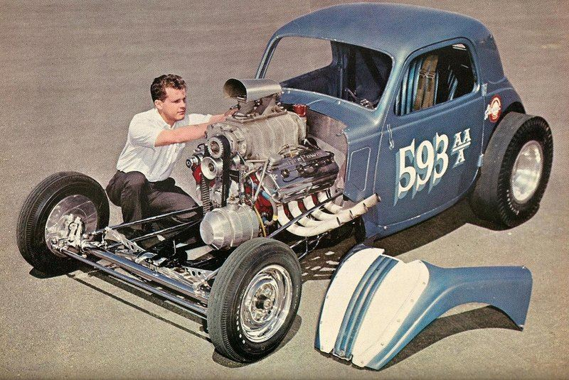 1950's & 1960's hot rod & dragster race - Page 4 13726711