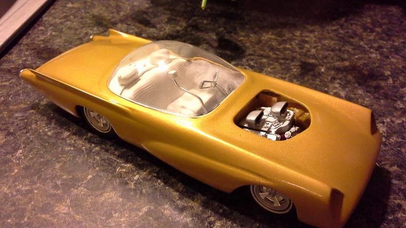 Vintage built automobile model kit survivor - Hot rod et Custom car maquettes montées anciennes - Page 6 13900311