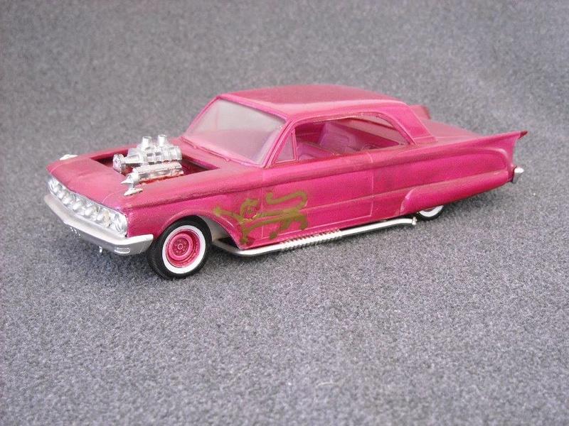 Vintage built automobile model kit survivor - Hot rod et Custom car maquettes montées anciennes - Page 6 13920213